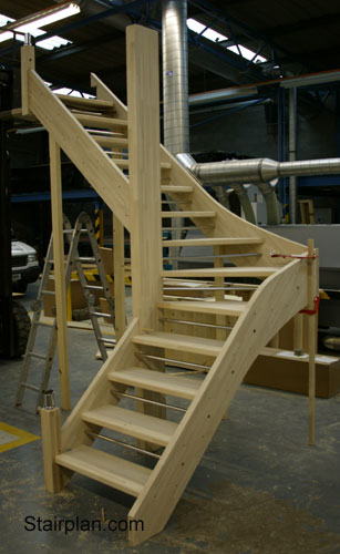 Open Plan Staircases From Stairplan Openplan Open Riser
