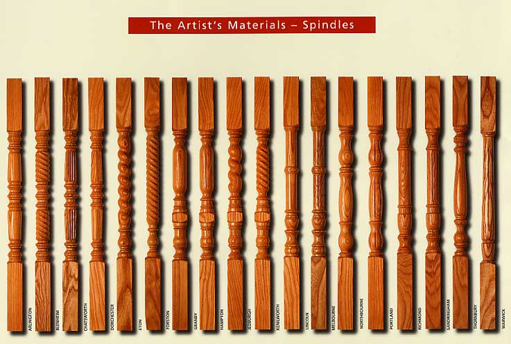 Designer Collection Of Spindles