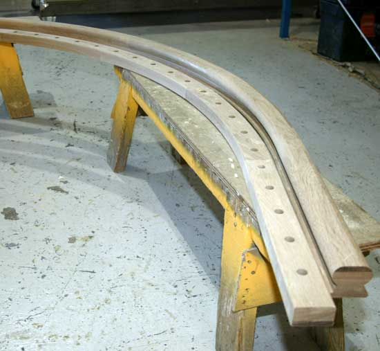 Handrail and Baserail section
