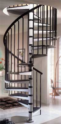 Gamia metal spiral staircases trade prices on spiral stairs - Exterior metal spiral staircase cost ...
