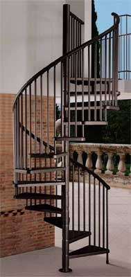 External spiral staircases trade prices on spiral stairs - Exterior metal spiral staircase cost ...