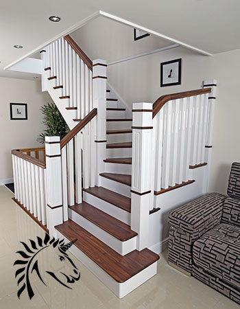 New England Staircase Design Idea