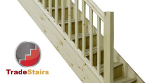 Trade range softwood staircases offering value for builders and developers