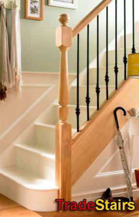 Elements metal stair banisters