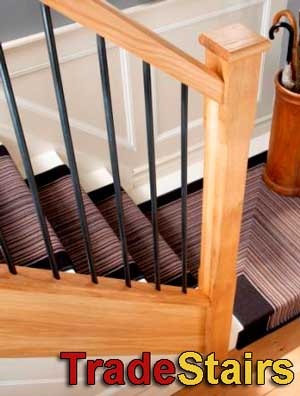 Elements Metal balusters for staircases