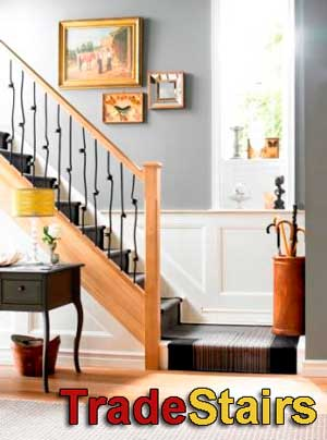 Elements Stair Balusters metal