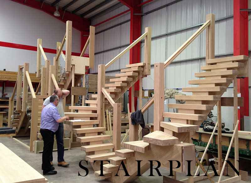Every detail covered in our rigorous staircase production process