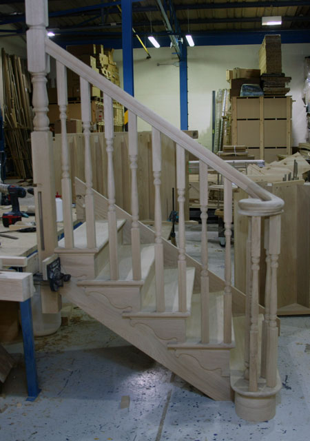 Staircase Handrail The New Ascending Volute